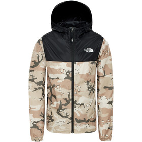 The North Face Reactor Tuulitakki Lapset, new taupe green desert youth print